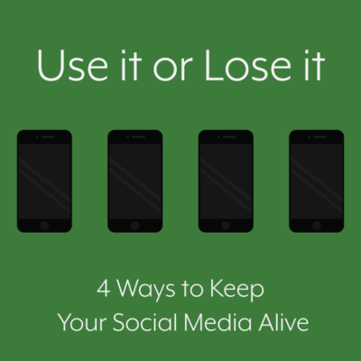 use it or lose it social media